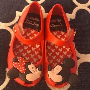 Kissing Mickey and Minnie mini Melissa's
